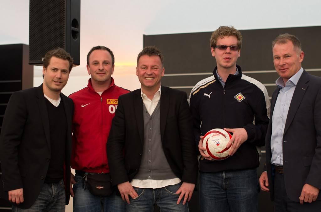v.l.: Lars Ricken, Otfried Morin, Oliver Forster, Heinrich Niehaus, Stefan Reuter