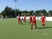 Aufwärmtraining der Tschechischen Nationalmannschaft