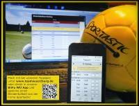 Macht mit beim Bundesliga-Tippspiel und gewinnt mit etwas Glück einen Blindenfußball!