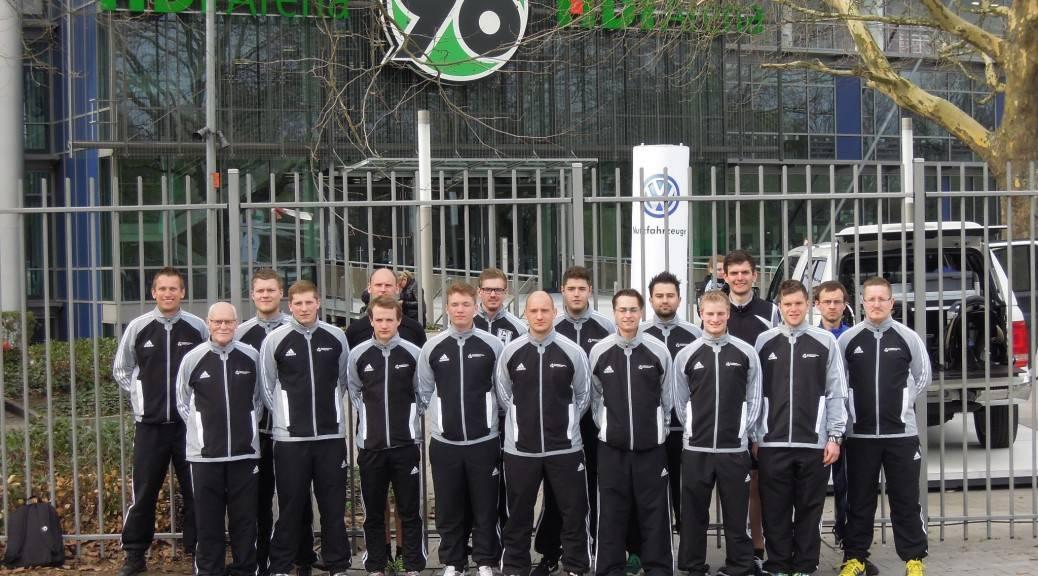 Gruppenfoto der Schiedsrichter bei dem Lehrgang im März 2013 in Hannover