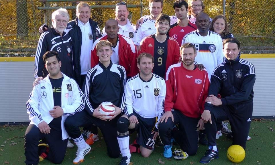 Gruppenfoto der Nationalmannschaft beim letzten Lehrgangswochenende vor der WM (Foto: Wolf Schmidt)
