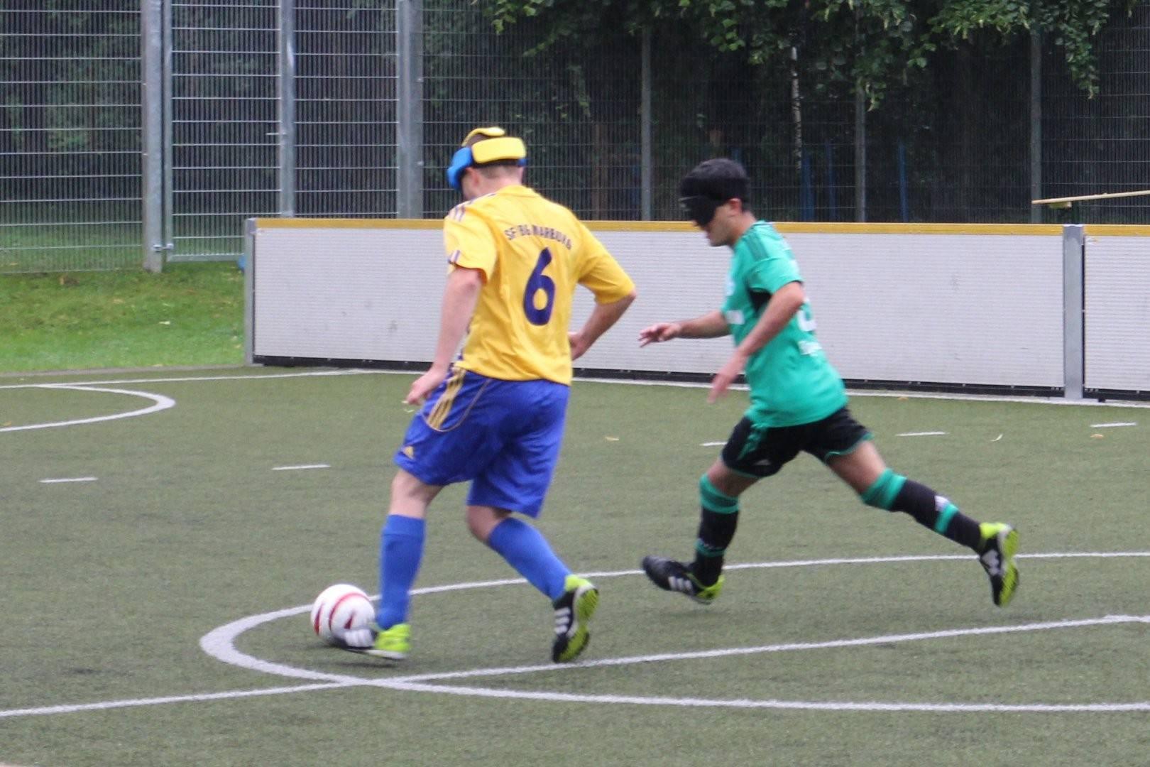 Wettrennen um den Ball