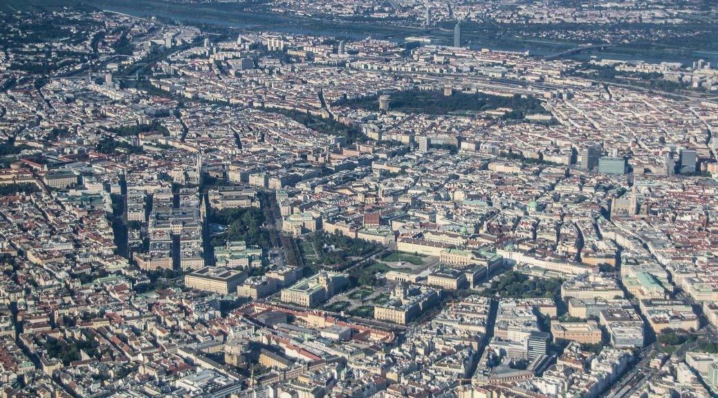 Luftbild von Wien