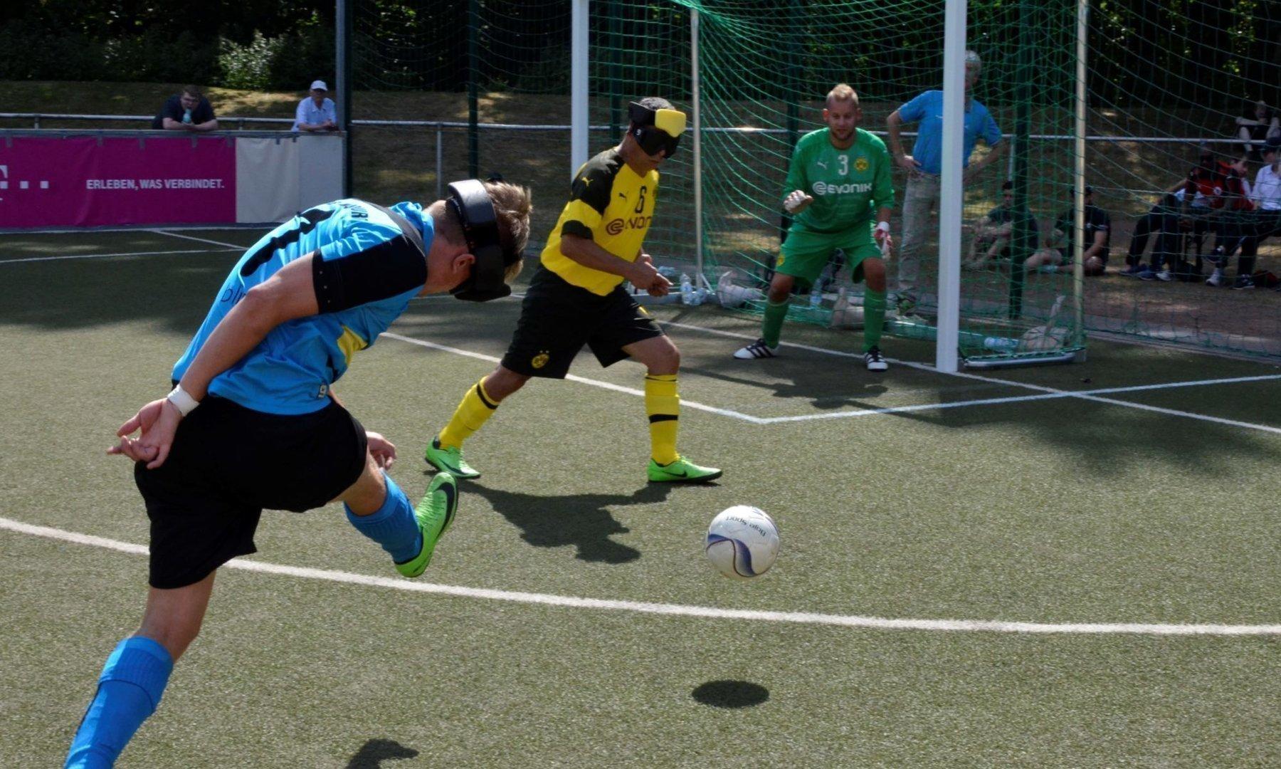 Hier zwar ohne Erfolg, dennoch hatte Taime Kuttig mit drei Treffern gegen seinen Ex-Verein maßgeblichen Anteil am Erfolg seiner Marburger.