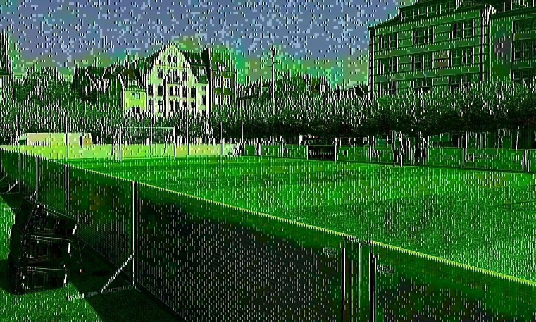 Der Düsseldorfer Burgplatz war im August Spielort des Finalspieltages der Deutschen Meisterschaft